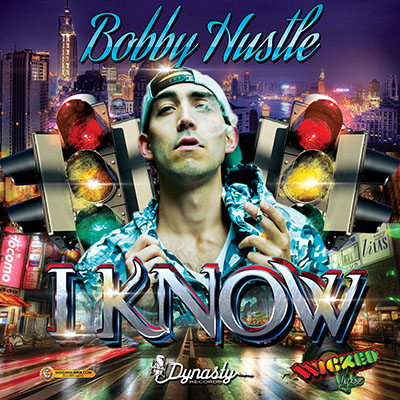 Bobby Hustle I Know Album Single Cover Design Urban Traffic Light Party Version