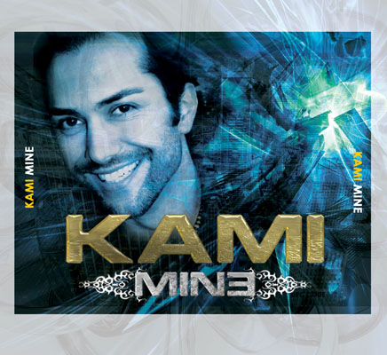 Kami Mine Album Cover Design: CD Tray Insert Interior Design