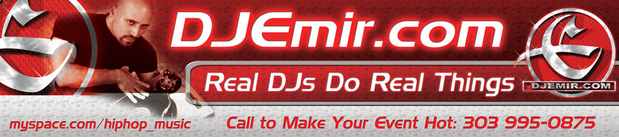 DJ Emir Real DJs Do Real Things Mixtape Banner