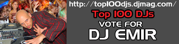 Vote DJ Emir Top 100 DJs