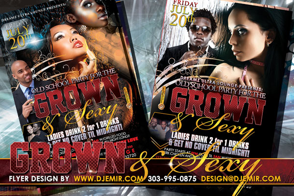 Amazing Flyer Designs Grown And Sexy Flyer Design Florida