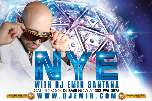 Book New Year's Eve with DJ Emir Now
