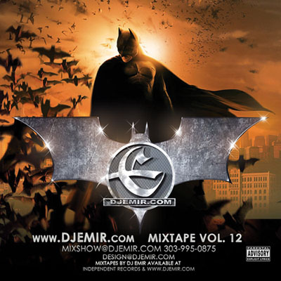 DJ Emir Batman Mixtape Cover