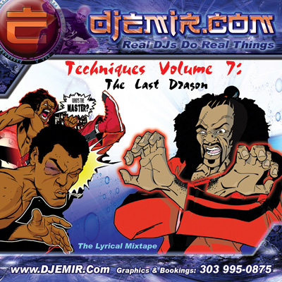 Last Dragon Mixtape: Sho Nuff Mixtape Tribute to The Kung Fu