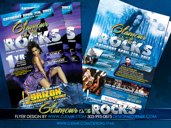Amazing Flyer Designs Glamour on The Rocks Simply Mumbai Bollywood Party Flyer San Francisco California