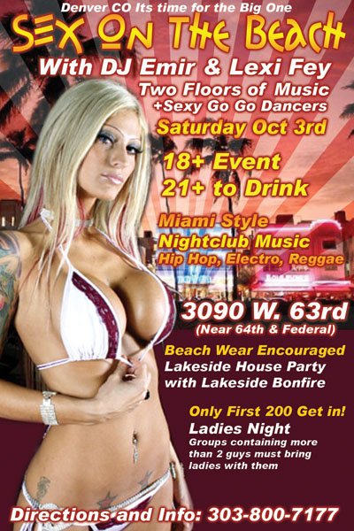 SexOnTheBeachPartyDenverCo Dec 22 Gay Aliens Love To Probe. My YouTube YouTube.com Tumblr ...