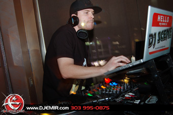 DJ Scene at Robusto Room Denver Colorado