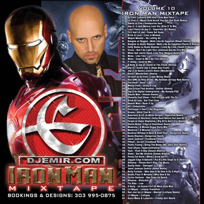 DJ Emir Iron Man Mixtape CD