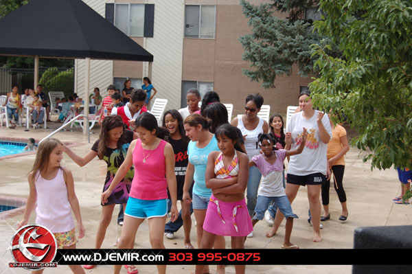 Kennedy Ridge Apartments Denver Aurora Pool Party July 2009