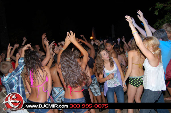 Epic Back to School Mansion Pool Party Parker Colorado at Pradera w DJ Emir