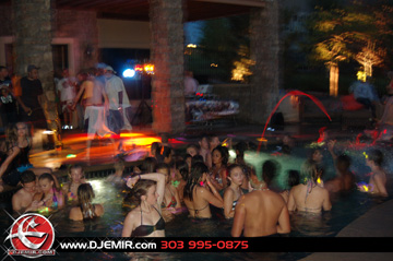 Pool Party Parker Colorado w DJ Emir