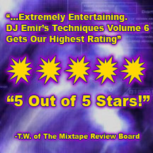 Mixtape Vol6 Gets Mixtape Review Award 5 out of 5 stars