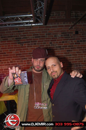 DJ Drama and DJ Emir at 303 Nightclub Barack-O-Drama Party