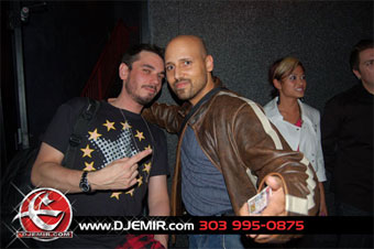 DJ AM and DJ Emir at Beta Nightclub Denver CO