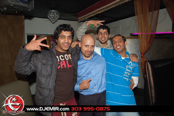 New DJ Emir Mixtape Fans at Oasis Nightclub