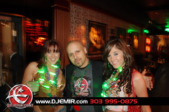 DJ Emir at Suite 200 Nightclub Denver Mardi Gra Party