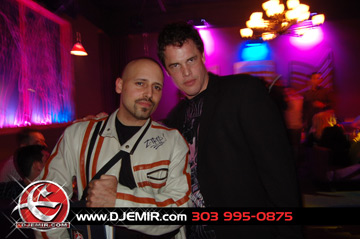 DJ Emir and Kevin Larson at Wish Nightclub Maxim Photo Shoot Party Denver CO