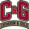 DU Crimson and Gold Bar Logo