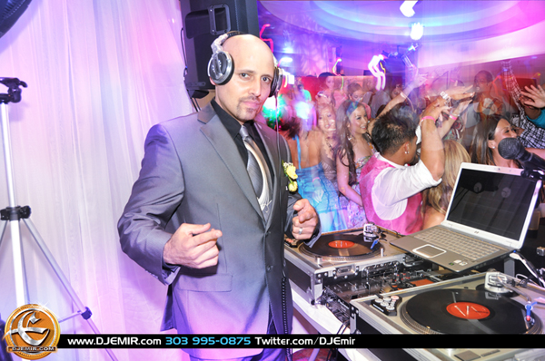 DJ Emir Denver Colorado Wedding Reception DJ