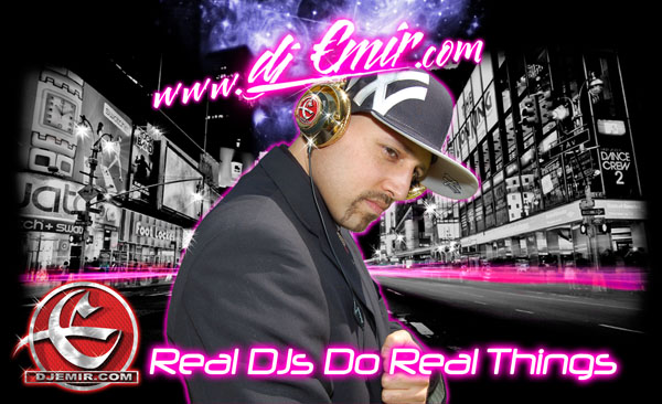 DJ Emir One of The Worlds Best Mixtape DJs: Real DJs Do Real Things New York Tmes Square